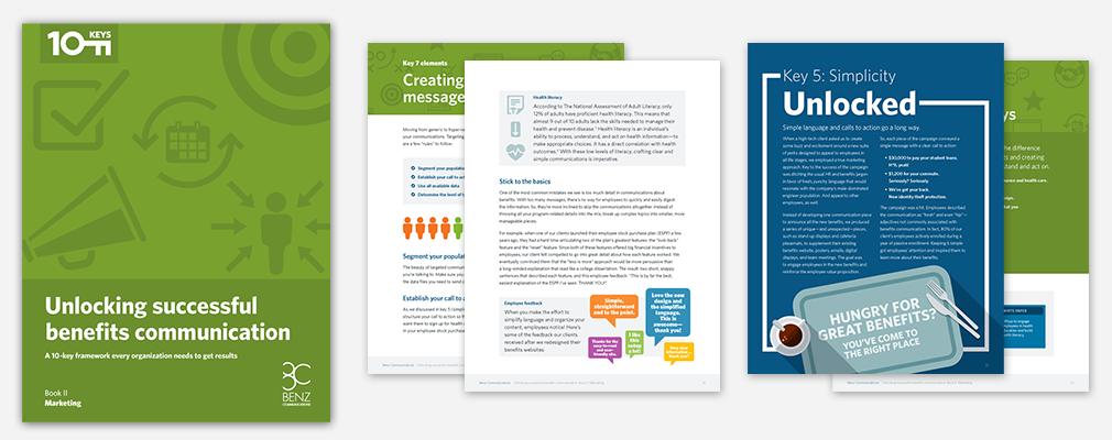 Unlocking successful benefits communication. Ebook II: Marketing