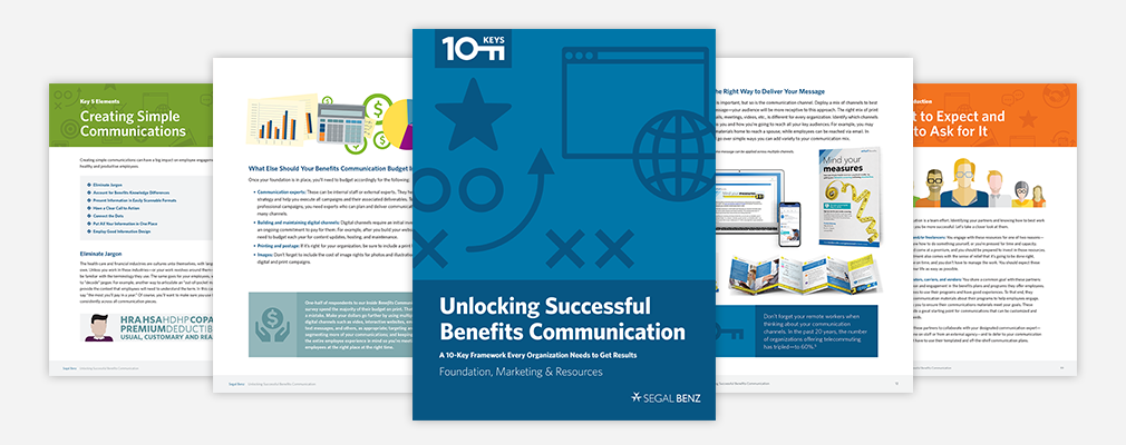 10 keys for communicating benefits