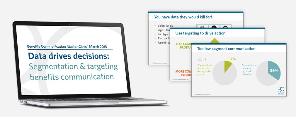 Master Class 4 Data Drives Decisions Webinar