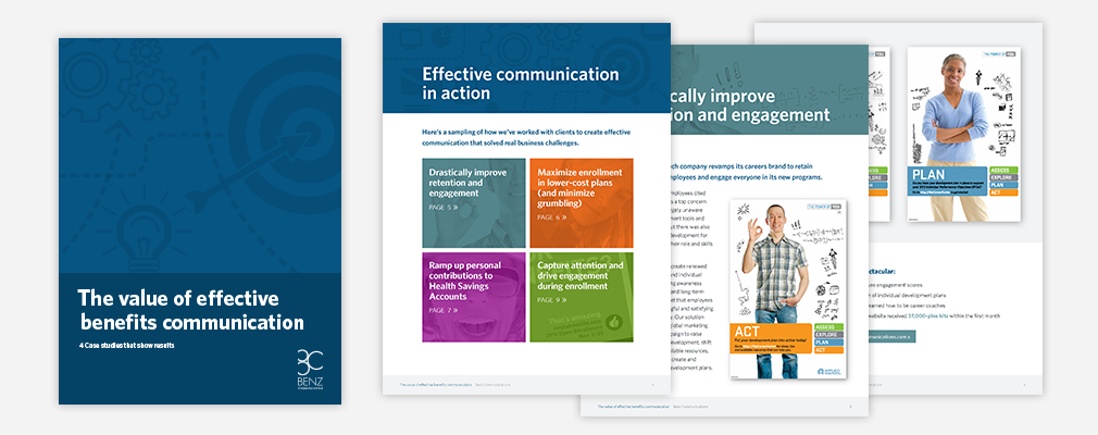 The Value of Effective Benefits Communication Case Studies PDF